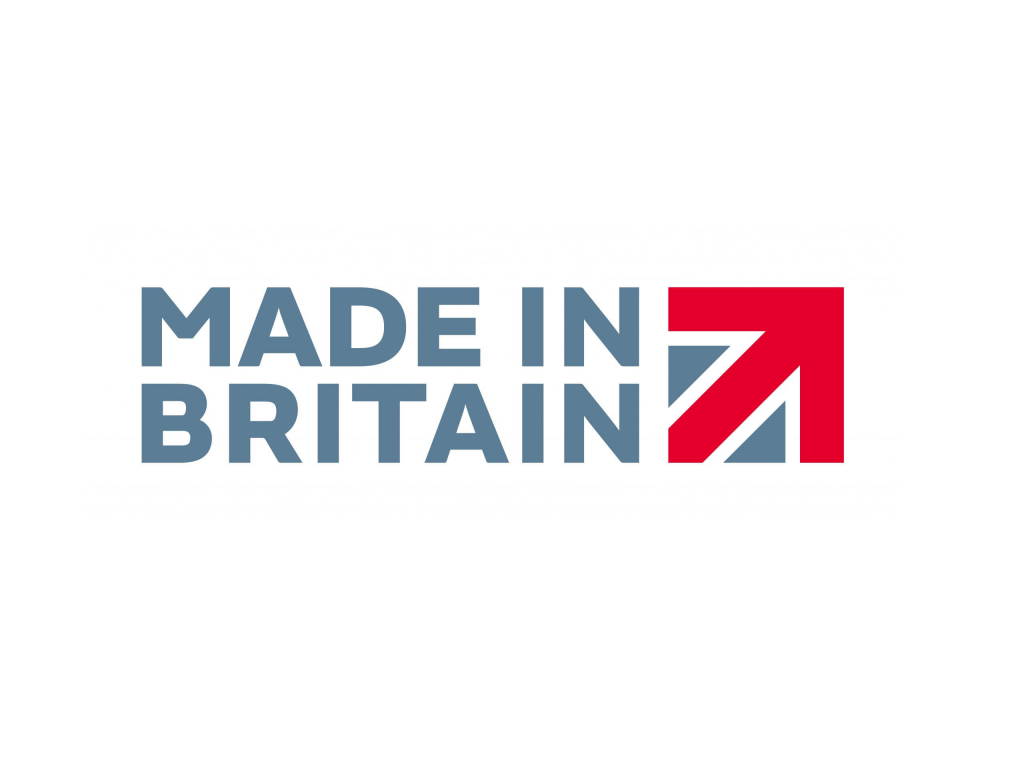 Made in Britain horizontal logo