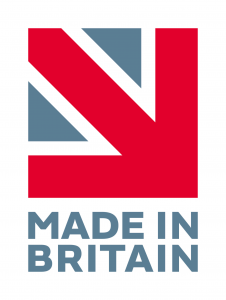 Made in Britain vertical logo