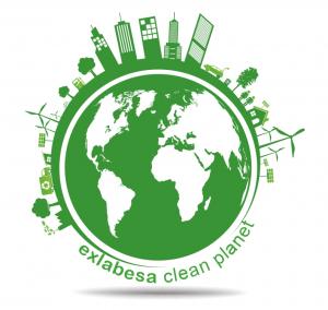 exlabesa clean planet logo