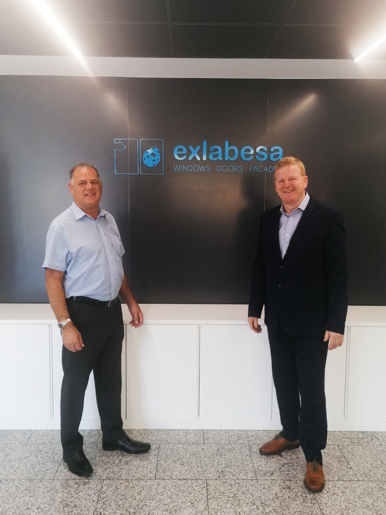 Simon Moore joins as a Business Development Manager (left) and Sales Director Kevin Warner (right)